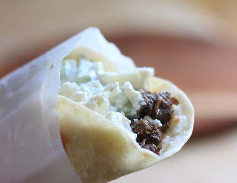 Venison Burrito with Za'atar