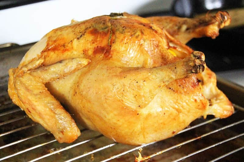 How to Roast a Chicken. An easy way to impress your guests is to roast a chicken. Chickens take a little over and hour to cook and the prep is super easy. With just a few ingredients you can have a juicy, crispy chicken in no time.