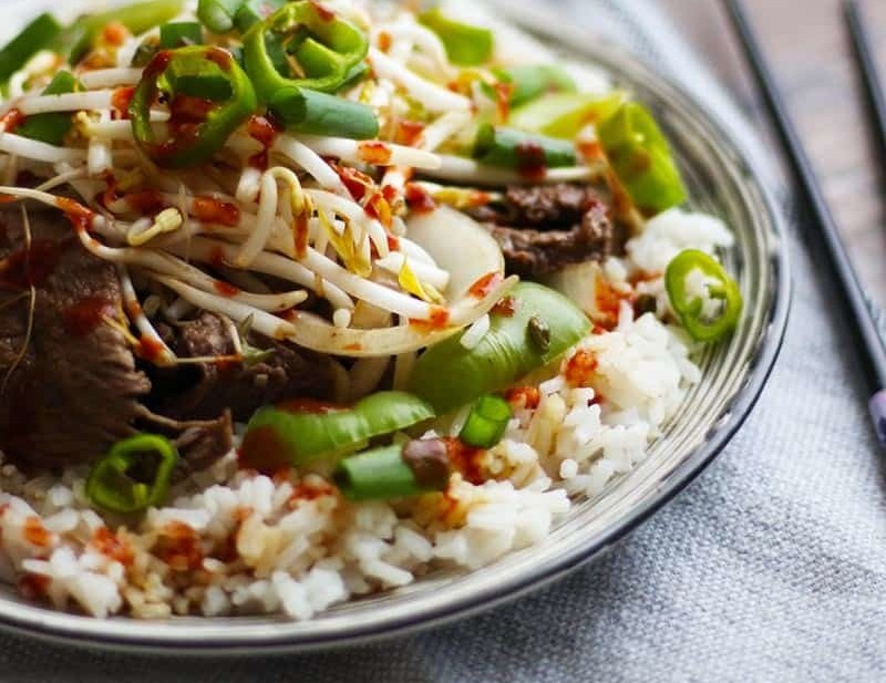 Best easy beef stir fry for beginner cooks. This easy and tasty stir fry uses few ingredients that are easy to find.