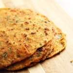 Sweet Potato Paratha, Shakarkandi Paratha, an Indian flatbread. A flatbread that is healthier thanks to sweet potatoes and ginger. An easy Indian flatbread that anyone can master, even the kids.