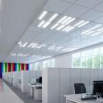 Fusion Optix LED panels for office lighting