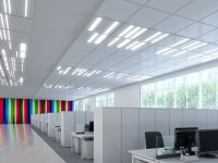 Fusion Optix LED panels for office lighting