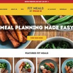 Ecommerce Website design for online food ordering system