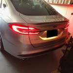 How To Install Upgrade Tail Lights Trunk To Level 3 Ford Fusion V6 Sport Forum