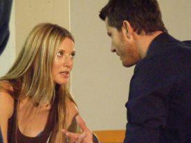 Julianna gives Chris her best Bambi eyes