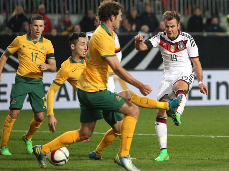 Spielstand Deutschland Australien