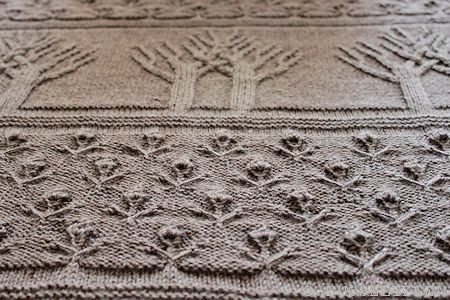 tree of life afghan struktur