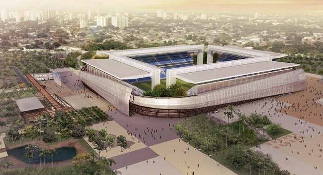Arena Pantanal, Cuiabá Foto: fifa.com