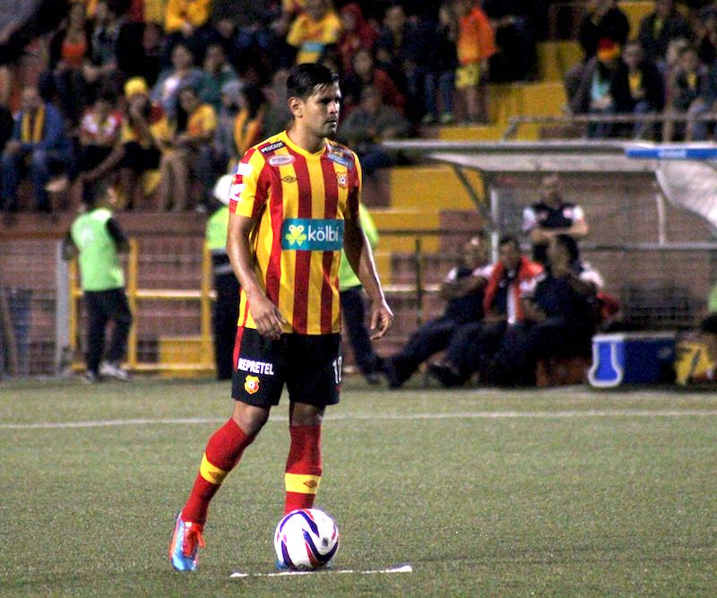 Keylor Soto jugó para Herediano el torneo anterior.