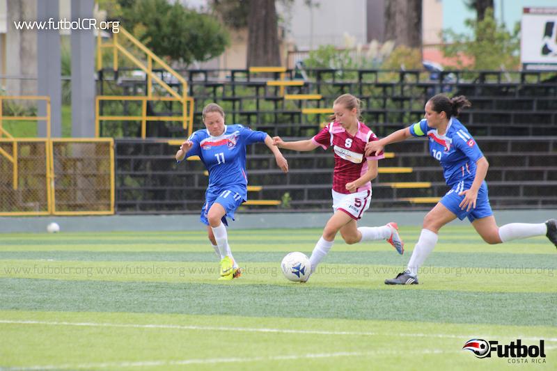 Gloriana Villalobos brilló con el Saprissa FF el domingo anterior ante Cartago