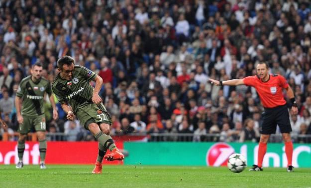 Radović definió el gol del Legia a la izquierda de Navas, que fue a la derecha. Foto: UEFA