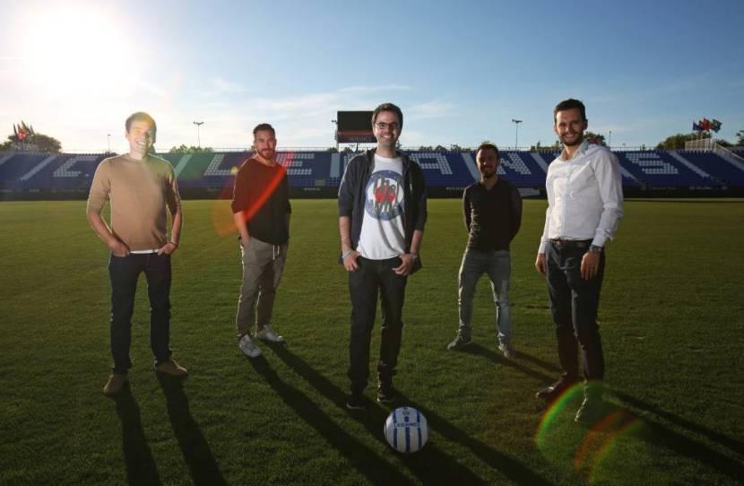 Detrás de estas cinco mentes están los carteles, afiches y promocionales más divertidos de LaLiga. Foto: Diario El País
