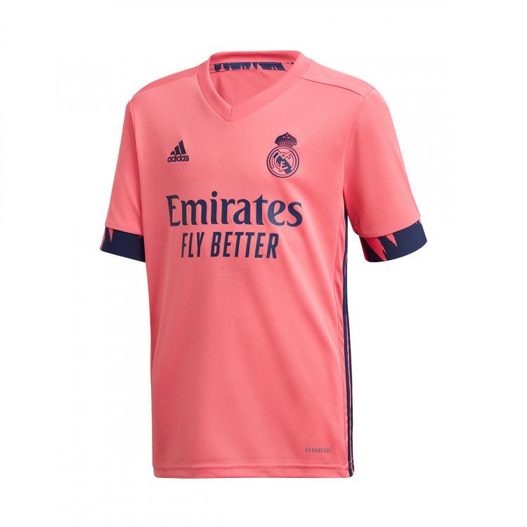 Kit adidas Real Madrid Segunda Equipación 2020-2021 Niño ...