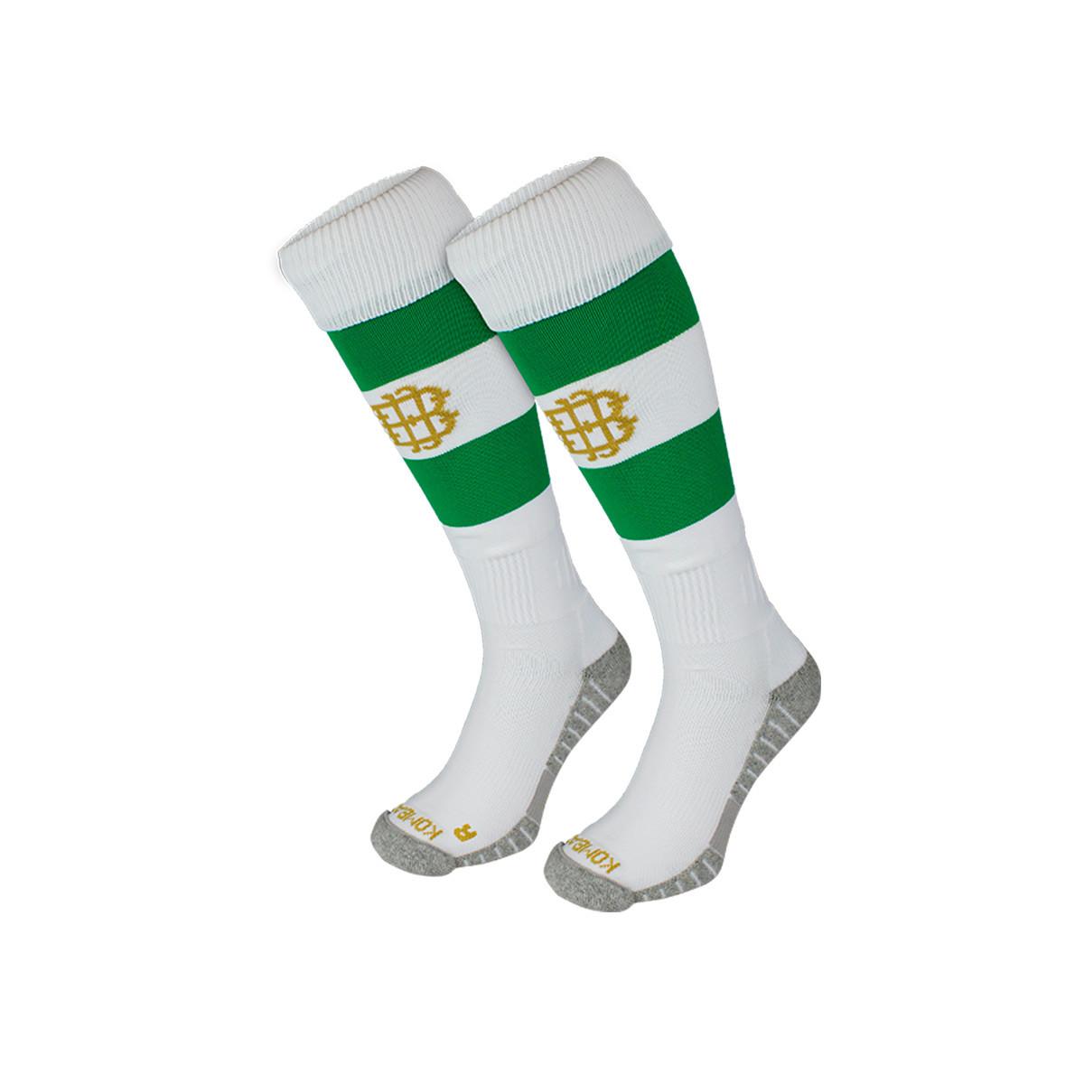 Football Socks Kappa Real Betis Balompie Primera Equipacion 2020 2021 Green Futbol Emotion