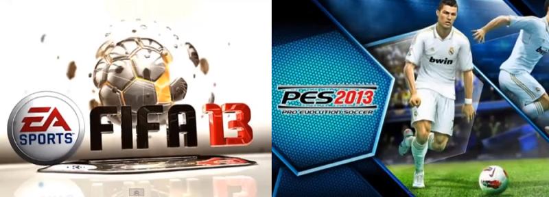 FIFA EA Sports y Pro Evolution Soccer
