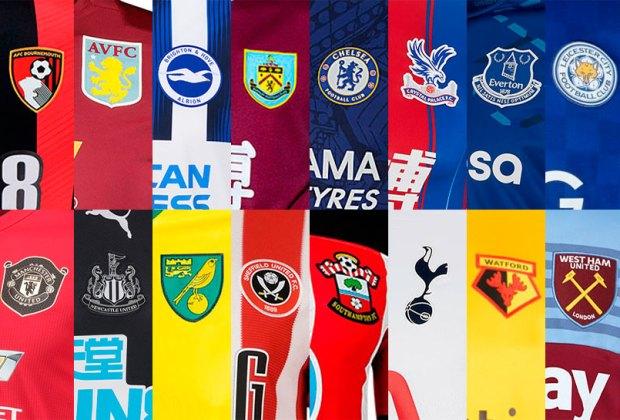 Camisetas Premier League 2021 - 2022