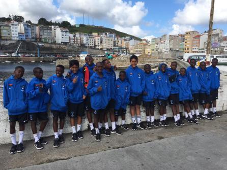 XV Torneo Internacional Infantil de Fútbol 7 de Carballo 2019. AFA Campeón. Equipo 22