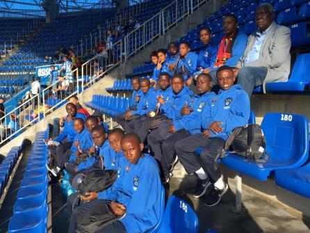 XV Torneo Internacional Infantil de Fútbol 7 de Carballo 2019. AFA Campeón. Equipo 27