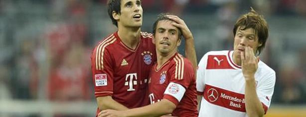 Javi Martínez debutó con el Bayern de Munich