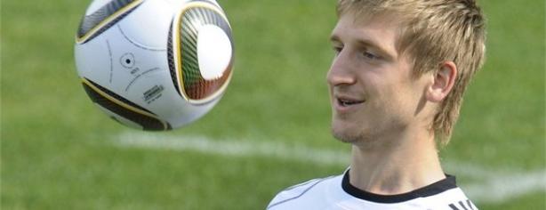 Marko Marin espera estar en la Euro 2012 Foto: FIFA.com