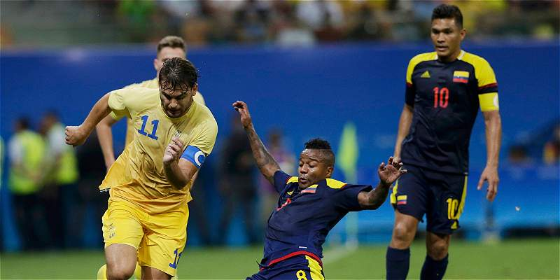 Colombia y Suecia para nota