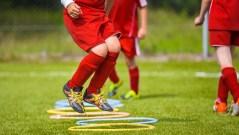 Preparación física en el fútbol. Fútbol Sesión