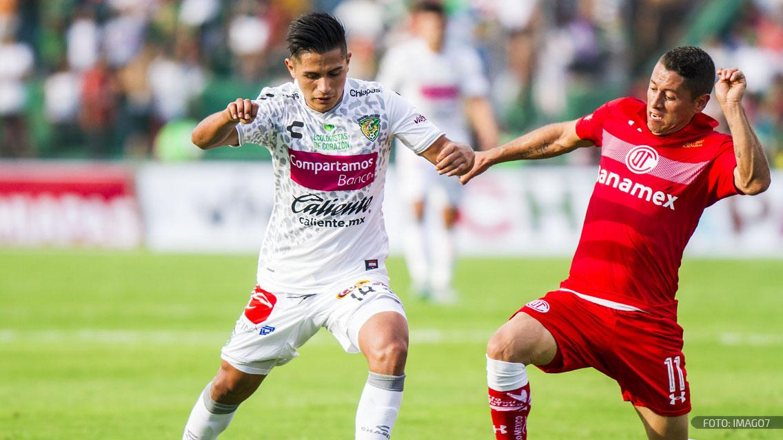 Toluca vs Chiapas
