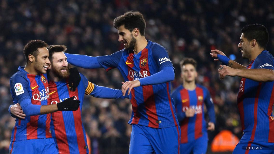 Barcelona presentó su camiseta para la final de la Copa del Rey