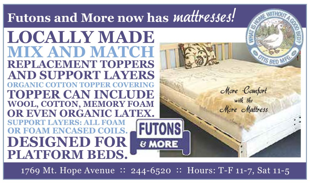 More comfort with the More Mattress!!!