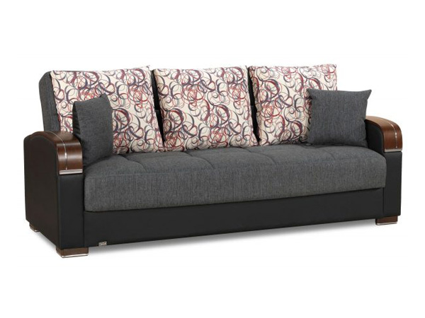 Roxy Futon Sofa Gray - Futon World New Jersey