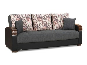 Roxy Futon Sofa Gray - Futon World New Jersey