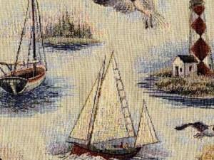 Boating 22'' Bolster Set