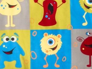 Monster Friends 22'' Bolster Pillow Set