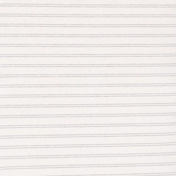 Ticking Stripe Pewter Full Fulton Cover
