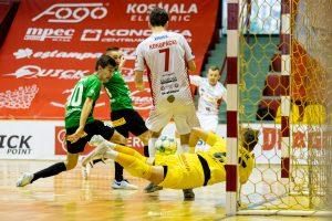 Skrót meczu GI Malepszy Futsal Leszno – AZS UW Darkomp Wilanów 03.04.2021