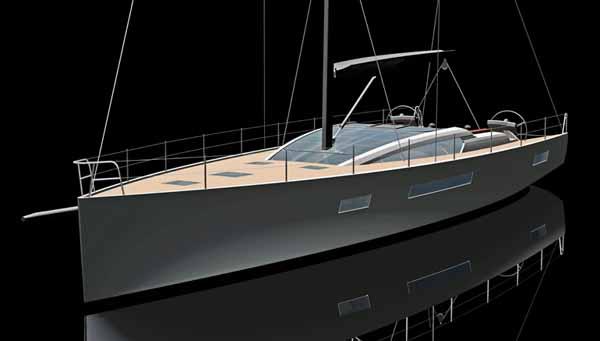Futuna Yachts Futuna 64 Aluminum Sailboat For Blue Water