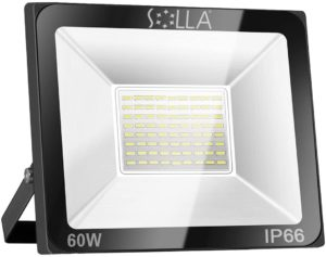 Evaluation of an LED floodlight, process