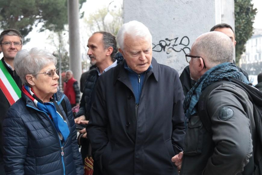 Giancarlo Caselli, ex Procuratore di Torino, con la moglie