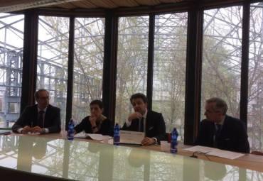 La conferenza stampa che ha presentato Clever (foto di Giuseppe Giordano)