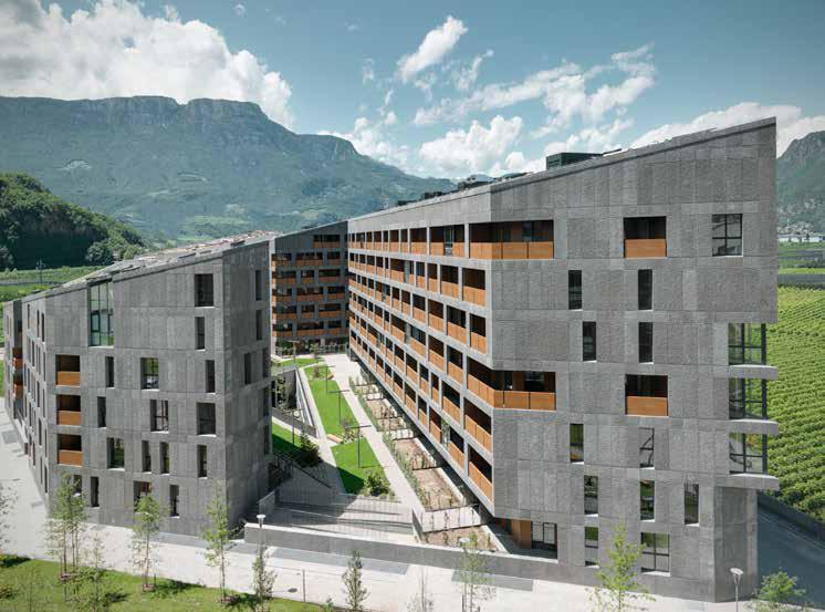 Residenza pubblica Casanova EA2 a Bolzano