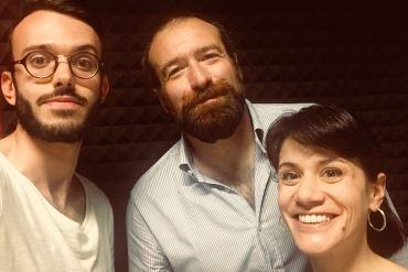 I conduttori in compagnia di Michele Dalai