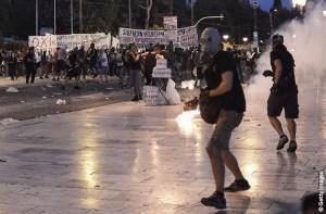 grecia disordini