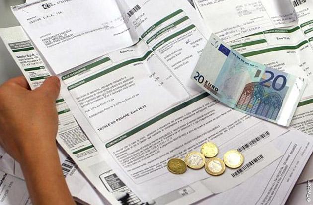 tredicesima in bollette e tasse