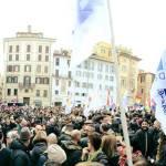 Unioni civili, cortei in tutta Italia