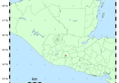 Insivumeh registró cinco sismos sensibles en primeros días de julio.