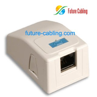 Wholesale Cheap 1 Port Surface Mount Box Installed With