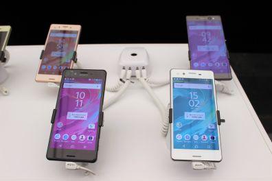 Nova gama de smartphones Sony Xperia X