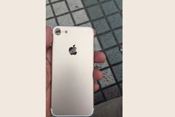 iPhone 7 circula na internet