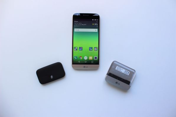 Análise review LG G5