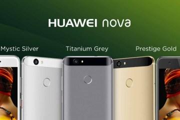Huawei Nova e Nova Plus
